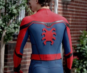homecoming, spiderman, and tom holland image