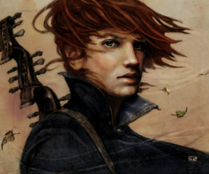 kvothe, patrick rothfuss, and the name of the wind image