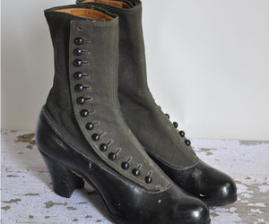 boots, buttons, and shoes image