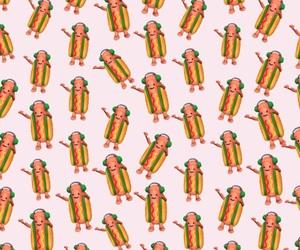 background, filter, and hotdog image