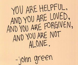 quotes, john green, and forgive image