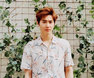 exo, suho, and kpop image