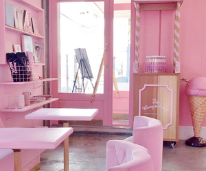 pink, room, and room pink image