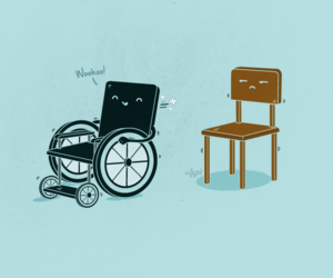 desing, illustration, and disabled image