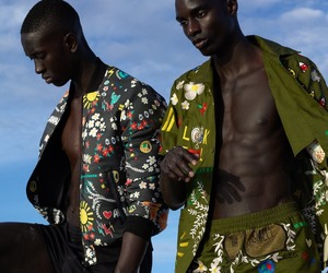 African, models, and poppin image