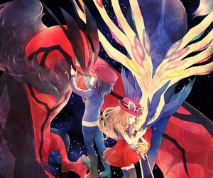 xerneas, pokemon, and yveltal image