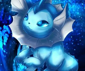 pokemon, vaporeon, and cute image