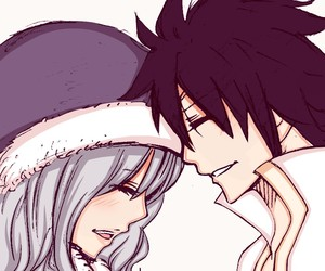art, ice, and fairy tail image