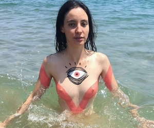 body, boobs, and skin image