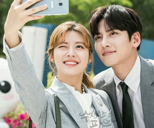 ji chang wook, couple, and drama image