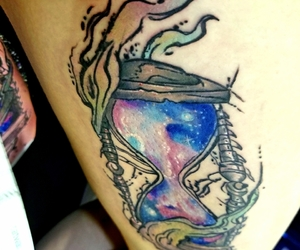 tattoo, art, and body art image