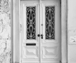 architecture, door, and old image