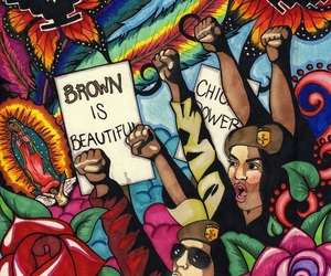 brown, chicano, and color image