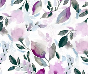 floral, patterns, and wallpaper image