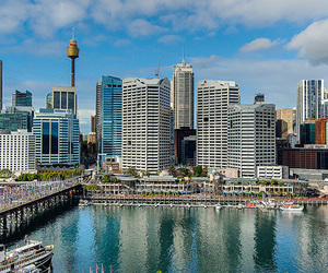 Sydney, travel, and darling harbour image