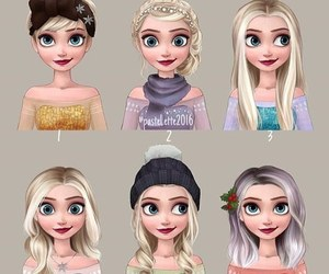 rapunzel, drawing, and hairstyle image