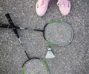 badminton and game image
