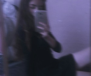 blur, blurry, and girl image