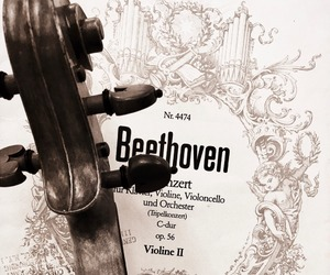 Beethoven, music, and musician image
