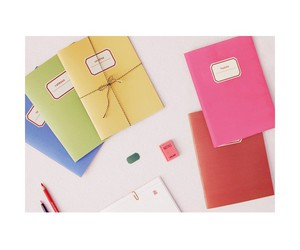 colored, cute notebook, and thecutenote image