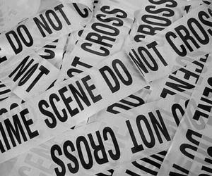 crime, aesthetic, and crime scene image