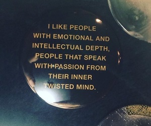 mind, intellectual, and deep conversations image