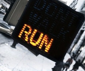 run, street, and quotes image