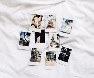 friends, girl, and polaroid image