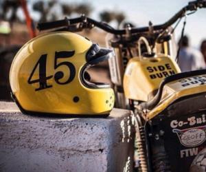 helmet, motorcross, and motorcycle image