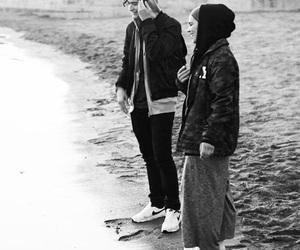 black and white, skam, and sana bakkoush image