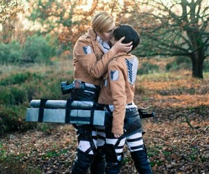 cosplay, deviantart, and levi and erwin image