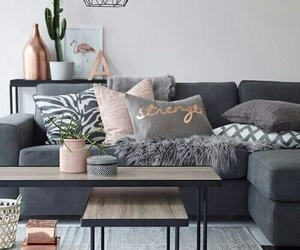 couch, decor, and living room image