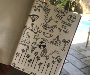 doodle and summer image