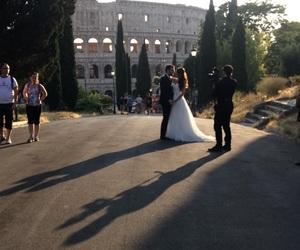 amore, colosseum, and wedding image
