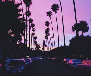 goals, purple, and palms image