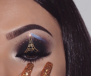 makeup and paris image