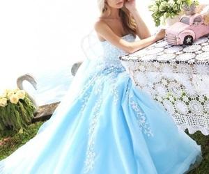 beauty, bridal, and cinderella image