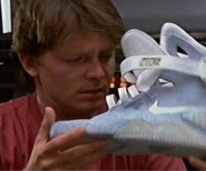 Back to the Future and nike image