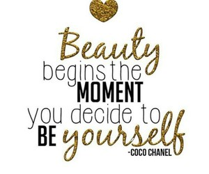 beauty, quotes, and chanel image