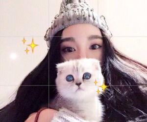 cat, asian, and ulzzang image