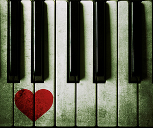 images, love, and piano image