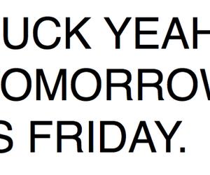 friday and tomorrow image