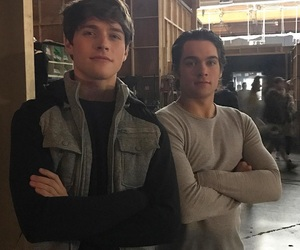 froy gutierrez, teen wolf, and dylan sprayberry image