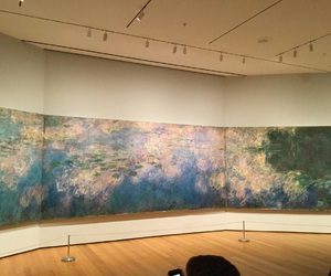 aesthetic, claude monet, and nyc image