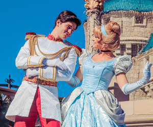 cinderella, disney world, and prince charming image