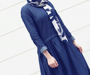 hidjab, fashion, and stylé image