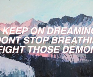 quotes, the neighbourhood, and afraid image