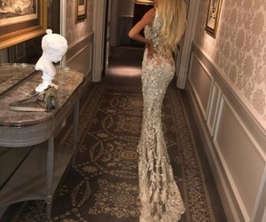 dress, hair, and luxury image