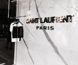 fashion, saint laurent, and paris image