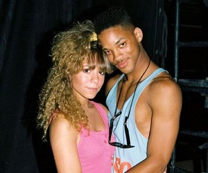 will smith, 90s, and Mariah Carey image